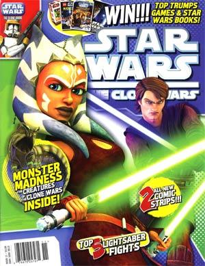 Star Wars Clone Wars Magazine #11 May / Jun 2012