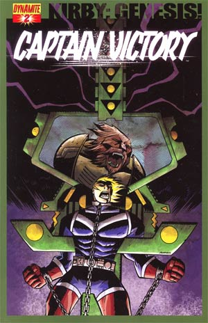Kirby Genesis Captain Victory #2 Cover B Regular Michael Avon Oeming Cover