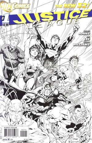Justice League Vol 2 #1 5th Ptg