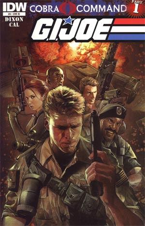GI Joe Vol 5 #9 Incentive Nick Runge Variant Cover (Cobra Command Part 1)