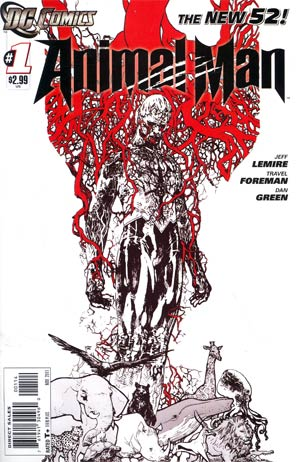Animal Man Vol 2 #1 4th Ptg