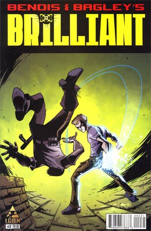 Brilliant #2 Incentive Michael Avon Oeming Variant Cover