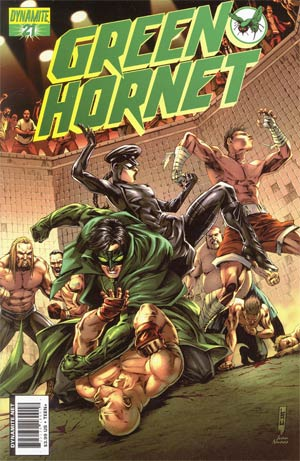 Kevin Smiths Green Hornet #21 Cover B Jonathan Lau Cover