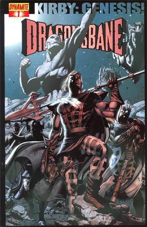 Kirby Genesis Dragonsbane #1 Cover B Regular Jack Herbert Cover