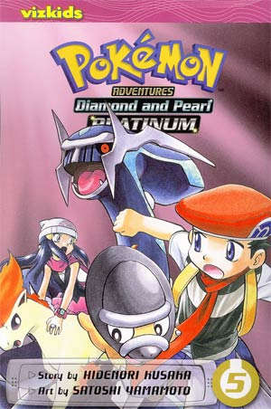 Pokemon Adventures Diamond And Pearl Platinum Vol 5 GN