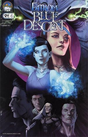 Fathom Blue Descent #4 Cover A Alex Sanchez