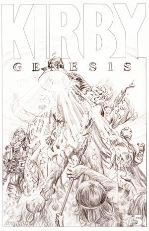 Kirby Genesis #5 Cover E Incentive Alex Ross Sketch Cover