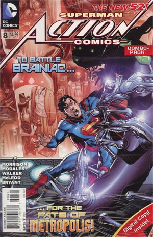 Action Comics Vol 2 #8 Cover B Combo Pack With Polybag