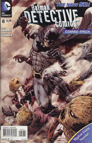 Detective Comics Vol 2 #8 Combo Pack With Polybag
