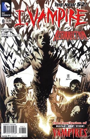 I Vampire #8 (Rise Of The Vampires Part 4)
