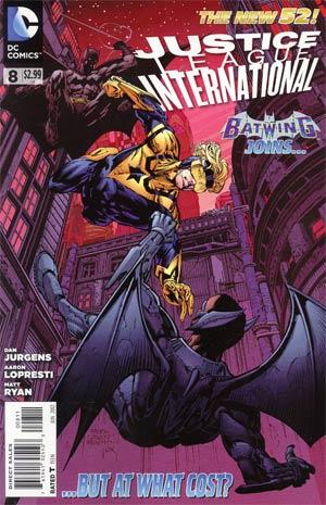 Justice League International Vol 2 #8