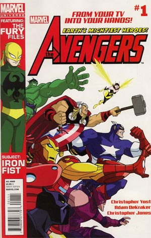 Marvel Universe Avengers Earths Mightiest Heroes #1