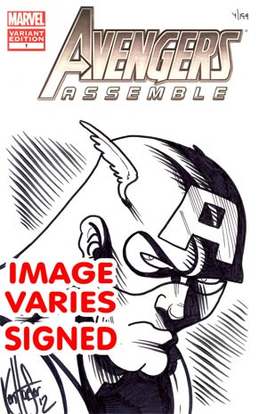 Avengers Assemble #1 DF Ken Haeser Remarked Edition