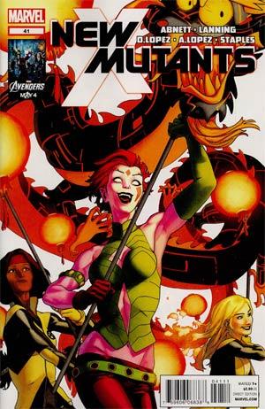 New Mutants Vol 3 #41