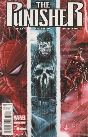 Punisher Vol 8 #10 Cover A 1st Ptg Regular Marco Checchetto Cover (The Omega Effect Part 2)