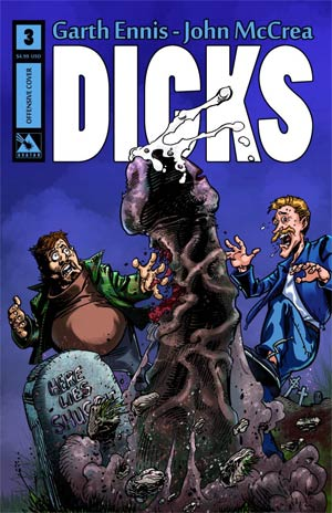 Dicks Color Edition #3 Cover B Offensive Cover