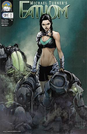 Fathom Vol 4 #6 Cover A Alex Konat
