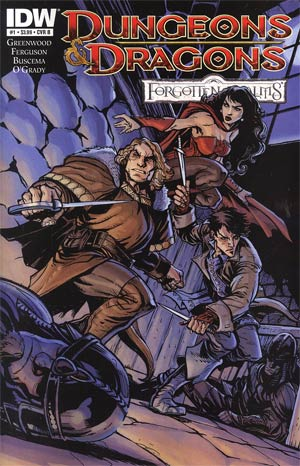 Dungeons & Dragons Forgotten Realms #1 Cover B