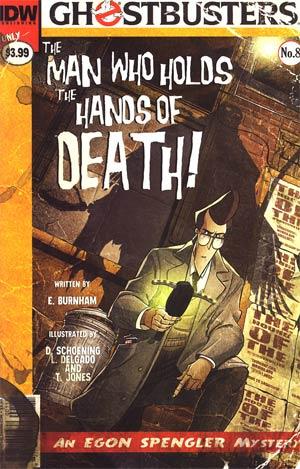 Ghostbusters #8 Regular Dan Schoening Cover