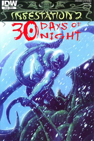 Infestation 2 30 Days Of Night One Shot Regular Cover B