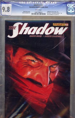 Shadow Vol 5 #1 DF Exclusive Alex Ross Cover CGC Graded 9.8