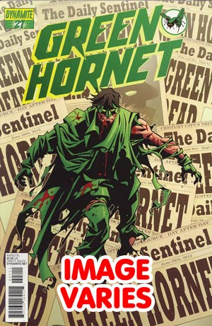 DO NOT USE Kevin Smiths Green Hornet #27 (Filled Randomly With 1 Of 2 Covers)