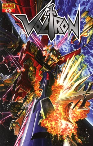 Voltron #5 Cover A Regular Alex Ross Cover