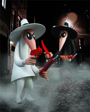 MAD Spy vs Spy 2-Pack Vinyl Figure