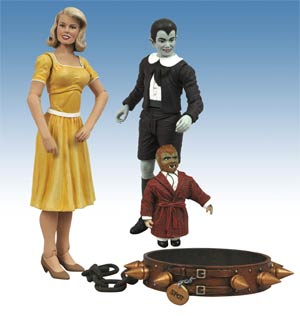 Munsters Select Eddie & Marilyn 2-Pack Action Figure