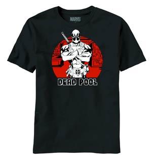 Deadpool Pool Shot Previews Exclusive Black T-Shirt Large