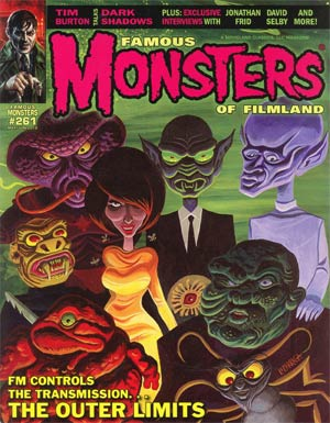 DO NOT USE (DUPLICATE LISTING) Famous Monsters Of Filmland #261 May / Jun 2012 Previews Exclusive Edition Outer Limits Cover
