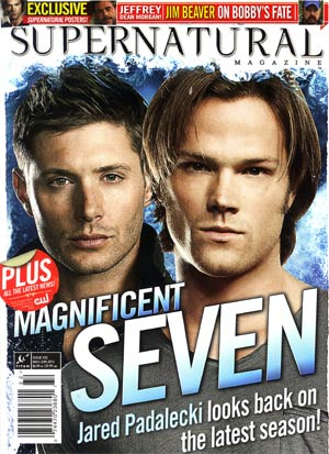 Supernatural Magazine #32 May / Jun 2012 Newsstand Edition