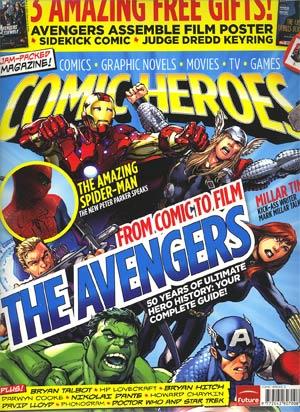 Comic Heroes Magazine #12