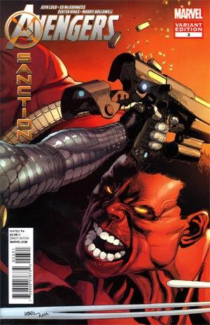 Avengers X-Sanction #3 Incentive Leinil Francis Yu Variant Cover