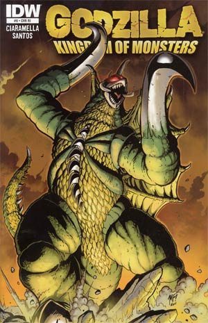 Godzilla Kingdom Of Monsters #9 Cover B Incentive Matt Frank Gigan Variant Cover