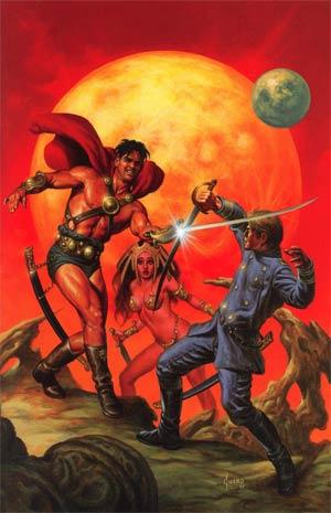 Warriors Of Mars #1 Incentive Joe Jusko Virgin Cover