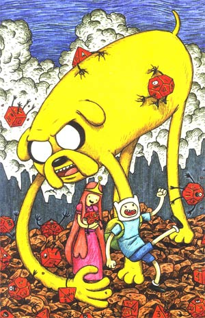 Adventure Time #1 Cover E Incentive Jeffrey Brown Variant Cover