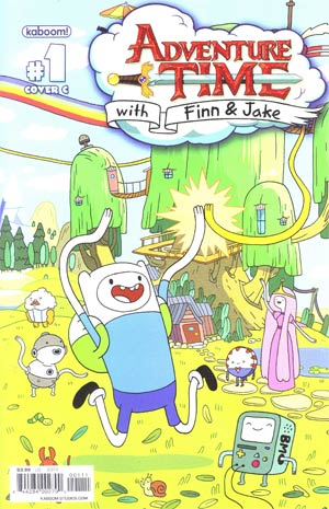 Adventure Time #1 Cover C 1st Ptg Regular Cover