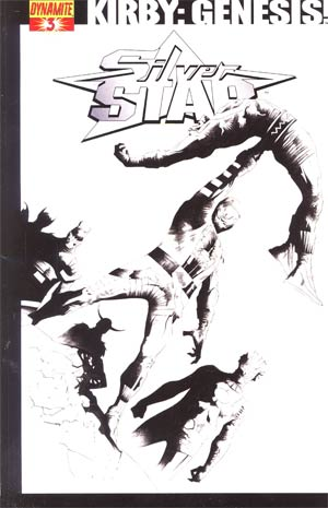 Kirby Genesis Silver Star #3 Cover E Incentive Jae Lee Black & White Cover