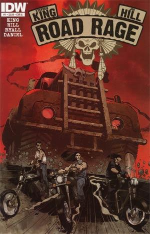 Stephen King Joe Hill Road Rage #1 1st Ptg Regular Cover A