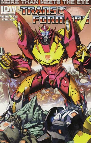 Transformers More Than Meets The Eye #2 1st Ptg Regular Cover A
