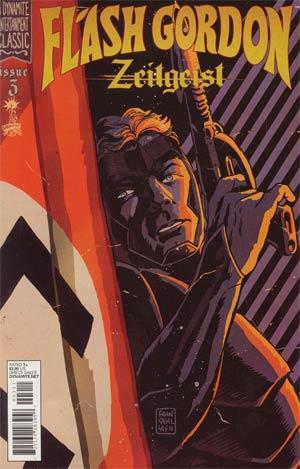 Flash Gordon Zeitgeist #3 Regular Francesco Francavilla Cover