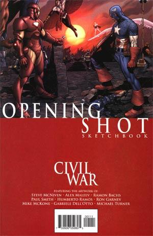Civil War Opening Shot Sketchbook