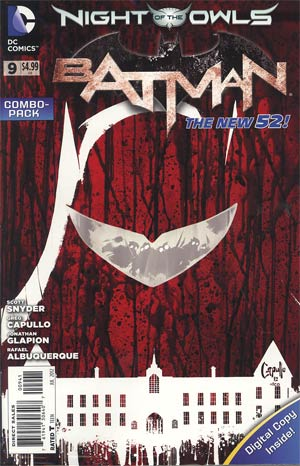 Batman Vol 2 #9 Cover C Combo Pack With Polybag (Night Of The Owls Tie-In)