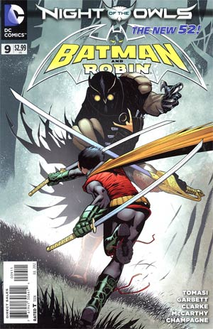 Batman And Robin Vol 2 #9 (Nite Of The Owls Tie-In)