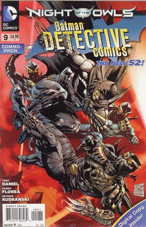 Detective Comics Vol 2 #9 Combo Pack With Polybag (Night Of The Owls Tie-In)