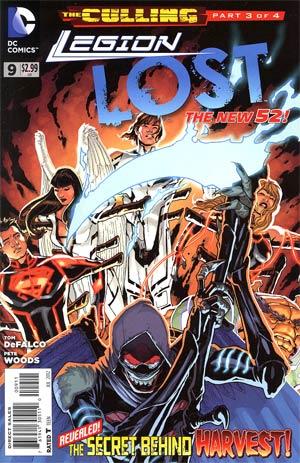 Legion Lost Vol 2 #9 (The Culling Part 3)