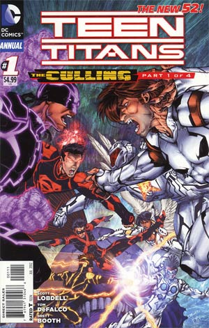 Teen Titans Vol 4 Annual #1 (The Culling Part 1)