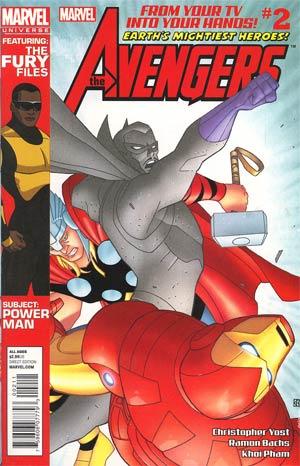 Marvel Universe Avengers Earths Mightiest Heroes #2