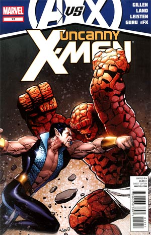 Uncanny X-Men Vol 2 #12 (Avengers vs X-Men Tie-In)